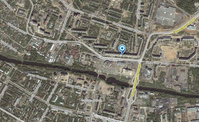 Схема проезда Москва: